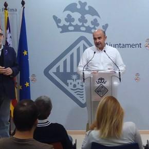 Cs Palma critica el carácter 'autoritario y antidemocrático' que está demostrando Hila como responsable de Urbanismo