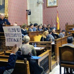 """Catalina Serra: """"Este equipo de gobierno intenta construir los símbolos de los mallorquines desde el punto de vista catalán"""""""