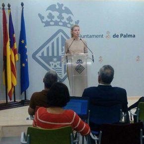 """Cs Palma considera una """"irresponsabilidad política"""" del Pacto la guerra abierta entre Emaya e Infraestructuras por la limpieza de los parques"""