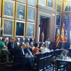 Cs Palma lamenta la actitud impositiva del Ayuntamiento con las ordenanzas de terrazas y alquiler turístico