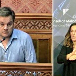 Cs Baleares celebra que el pleno del Consell haya aprobado por unanimidad su moción para que se abra una línea de ayudas para que los ayuntamientos realicen obras de mejora para la accesibilidad universal