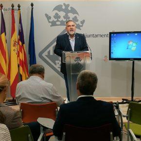 Josep Lluís Bauzá: 'A estas alturas el Pacte debería dejarse de ceremonias de confusión con las inversiones para Palma'