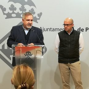 Cs Palma exige al ayuntamiento el cumplimiento en la normativa de Centro Histórico respecto a la publicidad en las fachadas de establecimientos comerciales