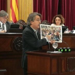 Pericay critica que March considere que no hay motivos para intervenir en los casos de adoctrinamiento en aulas de Baleares