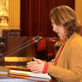 Olga Ballester: 'La nueva ley de Coordinación de Policías Locales vuelve a repetir los mismos errores que la anterior ley del PP, manteniendo la figura del policía interino'