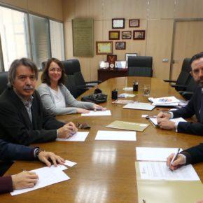 Cs conoce de primera mano las demandas de ASIMA para que la Administración impulse un Plan Integral de Mantenimiento de los Polígonos y el proyecto de Centro de Formación Profesional en el Antiguo Parque de Bomberos ASIMA