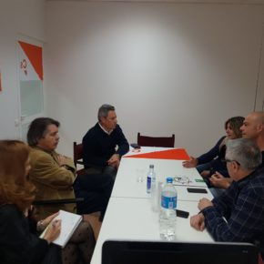 Xavier Pericay se reúne en Ibiza con representantes del CSIF para trasladarles la voluntad de Ciudadanos (Cs) de eliminar el requisito del catalán en la sanidad pública