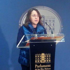 Cs Baleares registra una batería de preguntas en el Parlament en relación con la conferencia que una agente de los Mossos d'Esquadra dio en un instituto de Formentera