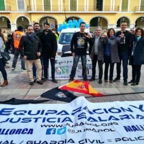 Ciudadanos (Cs) Baleares exige los 1.500 millones de euros acordados para que la equiparación salarial de Policía y Guardia Civil sea una realidad en 2020