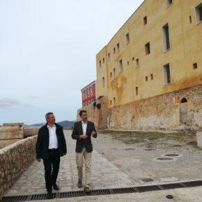 """Navarro: """"Presentamos una enmienda a los Presupuestos Generales con una partida realista para el proyecto de ejecución del parador de Ibiza"""""""
