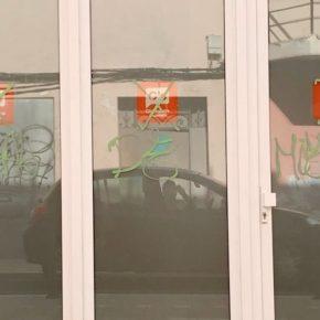 Ciudadanos (Cs) condena las pintadas aparecidas en la sede del partido en Ciutadella
