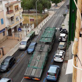 La agrupación de Cs Marratxí pide al Ayuntamiento la limitación de los camiones de alto tonelaje en la calle Cabana