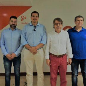 Ciudadanos muestra su apoyo a la Guardia Civil por el trabajo que está haciendo en Baleares