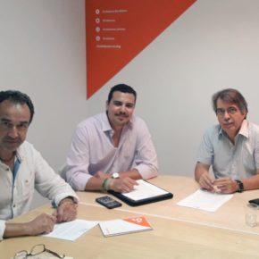 Cs Baleares se reúne con el portavoz de la delegación balear de la asociación de Independientes de la Guardia Civil (IGC) para tratar los principales problemas del sector