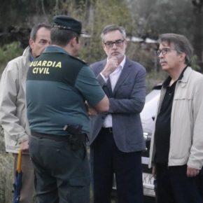 """Villegas: """"Toda España está apoyando a los afectados por este drama y a los que trabajan duro para normalizar la situación"""""""