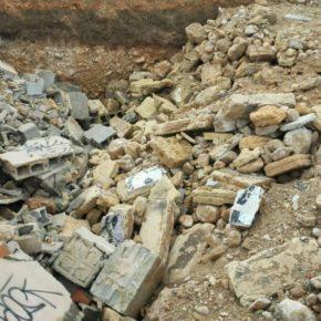 Cs Palma denuncia ante la Fiscalía de Medio Ambiente el lanzamiento de escombros sin tratar en las obras del canódromo