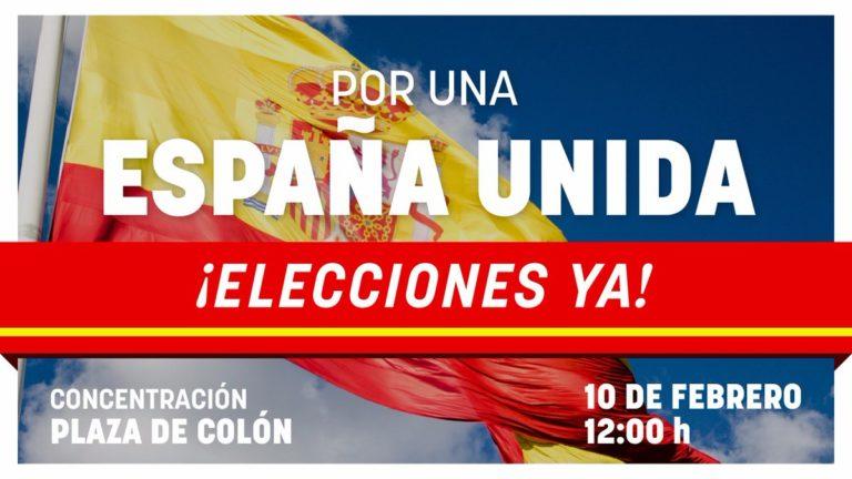 Cs Baleares asistirá a la concentración de Plaza de Colón para defender una España unida y exigir la convocatoria de elecciones
