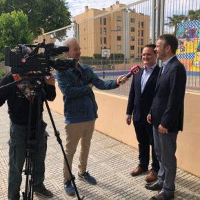 """Pérez-Ribas: """"Eliminaremos todos los barracones de las escuelas y aseguraremos las condiciones de habitabilidad, climatización y seguridad de los alumnos"""""""