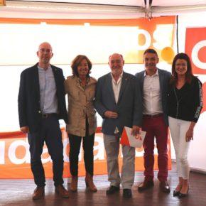 Ciudadanos (Cs) Santa Eulalia del Rio presenta a José Félix Navarro como candidato a la alcaldía