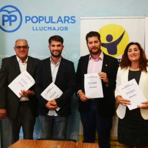 Ciudadanos (Cs) llega a un acuerdo de gobernabilidad con el PP, Llibertat Llucmajor, ASI y el apoyo externo de VOX y el regidor Raúl Domínguez