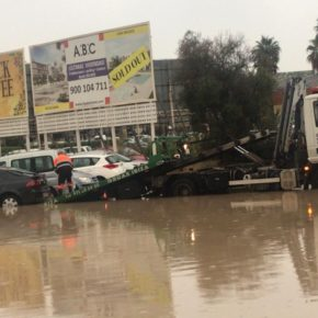 Ciudadanos denuncia la dejadez de Vila en el mantenimiento de los aparcamientos disuasorios