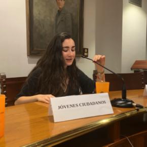 Jóvenes Ciudadanos participa en el pleno joven organizado por el Ayuntamiento de Inca