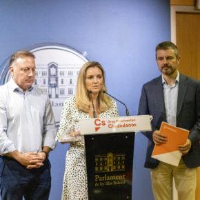 Ciudadanos interpela a la consellera Pilar Costa para que aclare quien pagó la entrevista de Armengol a The Guardian