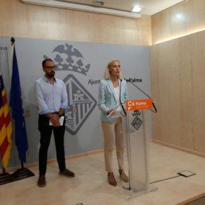 Cs Palma pide la comparecencia de la regidora Adrover ante el aumento de la inseguridad en Palma y la falta de medios en la Policía Local