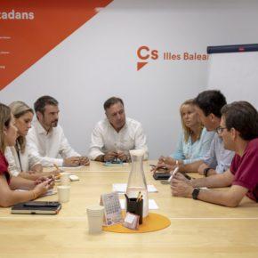 Cs Baleares se reúne con la plataforma 'Sí a los cruceros'