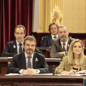 Cs Baleares solicita la comparecencia de Patricia Gómez para que aclare la situación del contrato del transporte aéreo sanitario