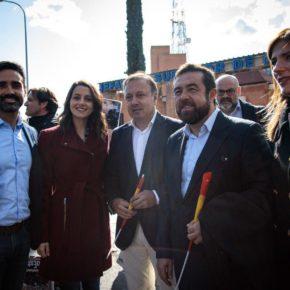 Representantes de Ciudadanos (Cs) en las instituciones de Baleares y el Congreso acuden a dar su apoyo a la Policía Nacional