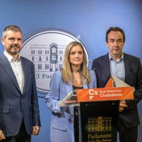 """Ciudadanos presenta 157 enmiendas a los presupuestos de la CAIB """"para mejorar en Educación, Empleo, Sanidad y Calidad del agua"""""""