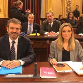 """Pérez-Ribas: """"El Govern gasta más de lo que tiene sabiendo que no lo tiene"""""""