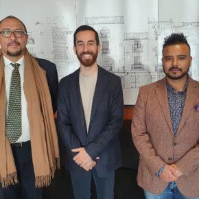 El vicepresidente de Cs en el Consell d'Eivissa, Javier Torres, recibe al cónsul de Colombia en Balears