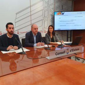 El vicepresidente Javier Torres (Cs) presenta los presupuestos del Consell d'Eivissa para 2020