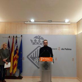 Cs Palma pide al Ayuntamiento buscar acuerdos con clínicas veterinarias para cubrir los gastos veterinarios de las familias en situación de vulnerabilidad