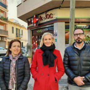 Cs Palma denuncia el crecimiento alarmante de Casas de Apuestas y Salones de Juego en Pere Garau