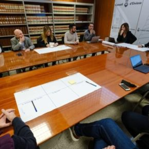 Javier Torres (Cs) inicia el Plan Director Smart Island en el Consell d'Eivissa