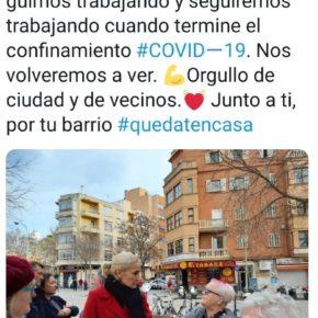 Cs Palma lanza una campaña digital para dar apoyo a los vecinos de 'Ciutat' ante el COVID-19