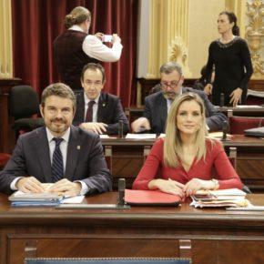 Cs Baleares exige al Parlament que garantice el derecho de la oposición a conocer y controlar la gestión del Govern tras la nueva prórroga del Estado de Alarma