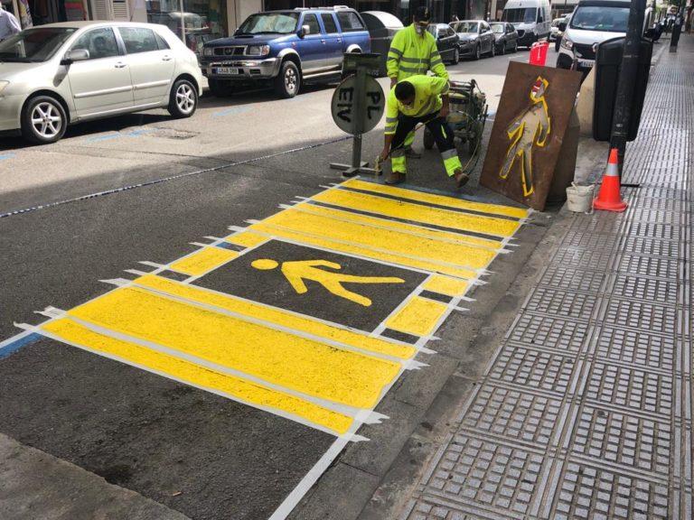 """Cs Ibiza pregunta al ayuntamiento sobre una peatonalización del asfalto que """"ahoga al pequeño comercio"""""""