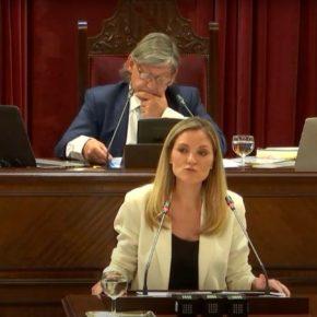 """Guasp exige a Armengol que """"no se quede con los brazos cruzados ante la insolvencia del Gobierno central que lastra la reactivación económica de Baleares"""""""