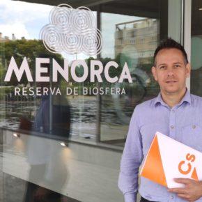 Ciudadanos se congratula de la puesta en marcha del nuevo enlace eléctrico submarino entre Menorca y Mallorca