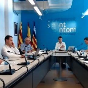 Cs saca adelante por unanimidad la primera Ordenanza municipal de Transparencia de Sant Antoni