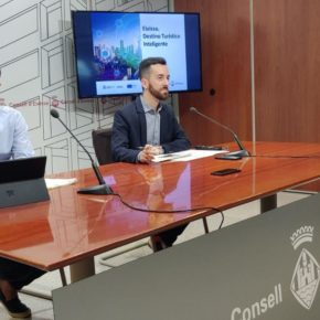 Javier Torres presenta el proyecto 'Eivissa. Destino Turístico Inteligente', con un presupuesto de seis millones de euros