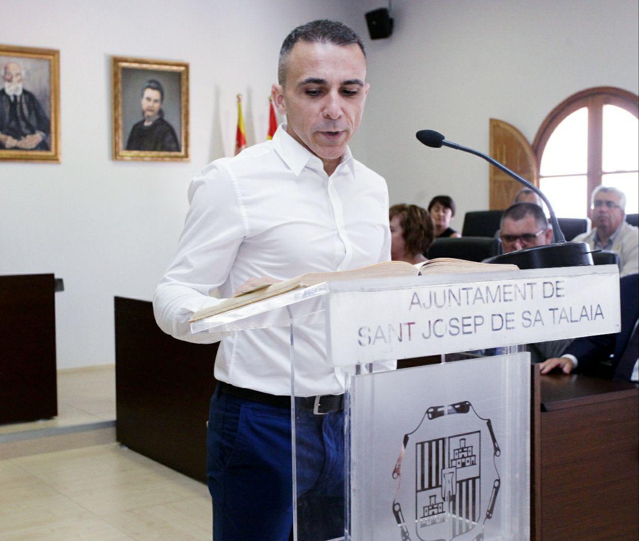 Daniel Becerra, portavoz de Cs Sant Josep