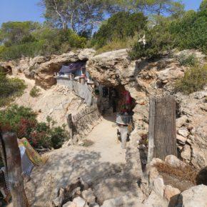 Cs denuncia la privatización de una cueva de la costa de Sant Josep de sa Talaia