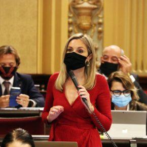 """Cs recuerda a Armengol que """"tenemos la oportunidad de corregir el trato injusto del Gobierno de Sánchez e Iglesias hacia Baleares"""" vía enmiendas a los PGE"""