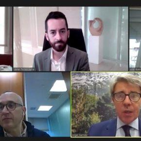 Javier Torres se reúne con Ángel Garrido para conocer la regulación de las VTC en Madrid