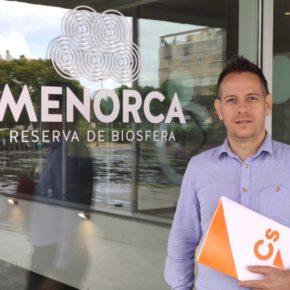 Cs en el Consell de Menorca interpelará a la consellera Salord sobre el funcionamiento del parque eólico de Milà
